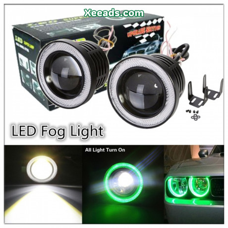 car-universal-modification-led-angel-eye-fog-lamp-big-0