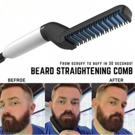 electric-beard-hair-straightening-comb-for-men-big-0