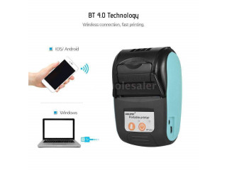 Bluetooth goojrpt bluetooth PT-210 58MM Portable printer