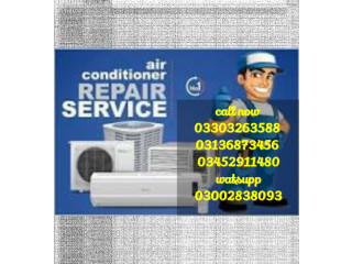 Split AC Repair Gas Fill Service Installation All Over karachi