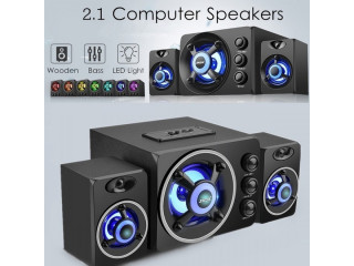 SADA Multimedia 2.1 Desktop Computer Speaker