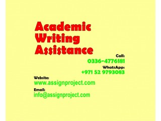 Dissertation | Thesis | Research Proposal | Assignments | Articles Writing Services