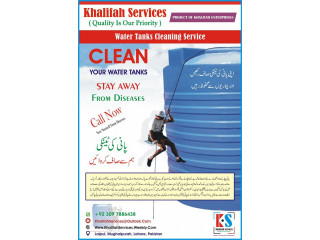 Water Tanks Cleaning Service