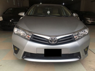 Toyota Corolla GLI on easy monthly installments