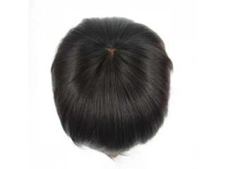 8A Quality Bleached knots Men's Hair