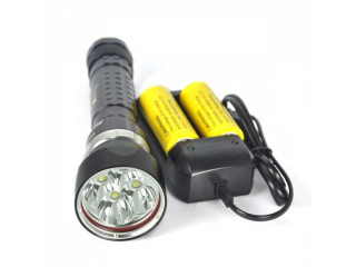 LED Scuba Diving Flashlight Underwater