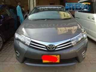Toyota corolla 2014 Get On Easy Monthly Installment Just 20% Down Payment .