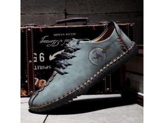 New Men's British Style Handmade Shoes