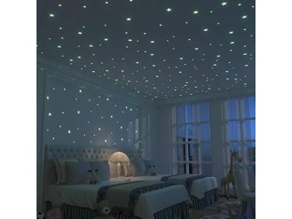Handsome Saving Offer For (Pack Of 300) Luminous Stars Wall Stickers