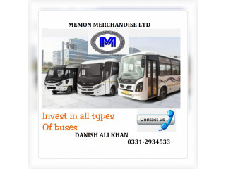 Daewoo bus And yutong bus business class On Easy installment Plan Per
