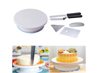 Rotating Revolving Cake Turn table Plate