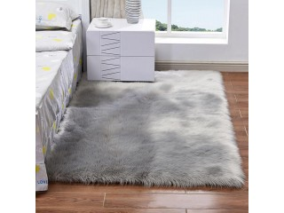 Long Plush Ultra Soft Fluffy Rugs Rectangle