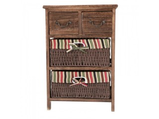 Storage Cabinet wood Brown