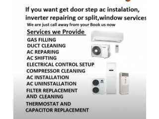 Ac services and repairing in all over lahore