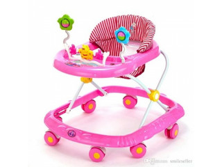 Baby Walker with Wheels Cartoon Style Durable Baby Children Activity