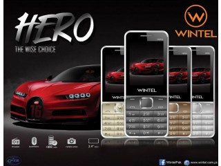 Gfive Wintel HERO Dual SIM Mobile, 2.4 inch Display