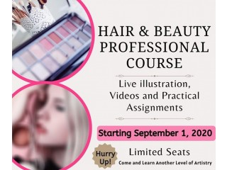Beauty and Hair Professional Course