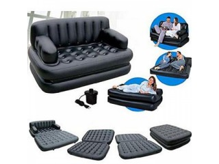Air Lounge 5 In 1 Leather Sofa Bed Comfortable