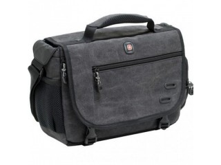 WENGER ZINC DSLR CAMERA MESSENGER BAG