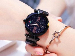 Beautiful Attractive Starry Sky Watch For Girls