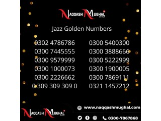 Mobilink Jazz Golden Numbers Buy NOW