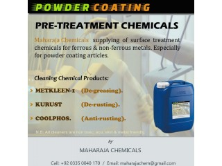 """POWDER COATING PRETREATMENT CHEMICALS"""
