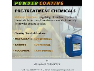 """POWDER COATING PRETREATMENT CHEMICALS"""