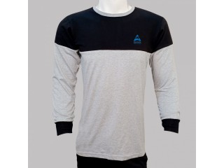 100% cotton raglan full sleeve shirts