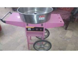 Cotton Candy Maker Machine Portable 2 Wheeler