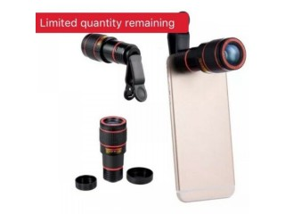 External Camera Lend Newest 12X Long Zoom