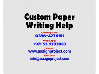 Academic Writing Assistance for Students