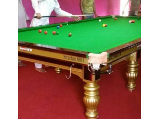 Snooker Table Factory in Pakistan