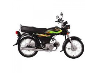 Honda - CD70 - Black (Karachi only)
