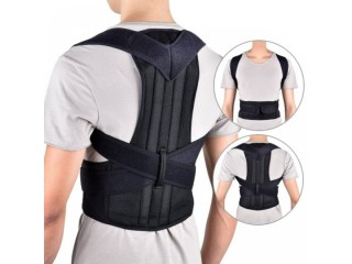 Posture Corrector Back Brace Adjustable Support Belt Back Pain Relief