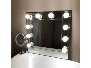 Vanity LED Mirror Lights 10 Dimmable Bulbs