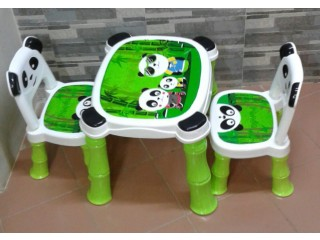 PANDA CHILDREN TABLE CHAIR
