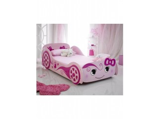 Herbie Car Bed For Girls - Pink