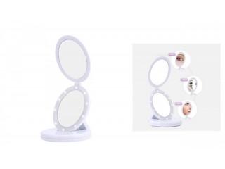 Eclipse Large LED Travel Foldable Mirror