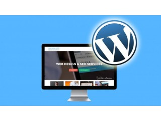 WordPress website Design 5 pages